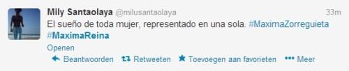 Tweet Máxima