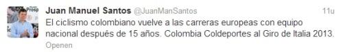 Tweet Santos