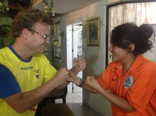 Mijn vrouw en ik zijn al klaar voor Nederland-Ecuador op het WK