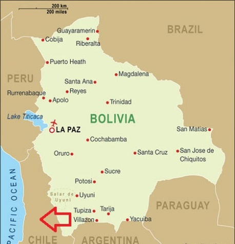 Bolivia eist via Den Haag en paus toegang tot zee