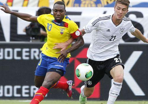 Ecuador Duitsland