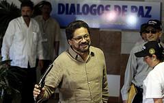 Hoofdonderhandelaar Iván Marquez van de FARC