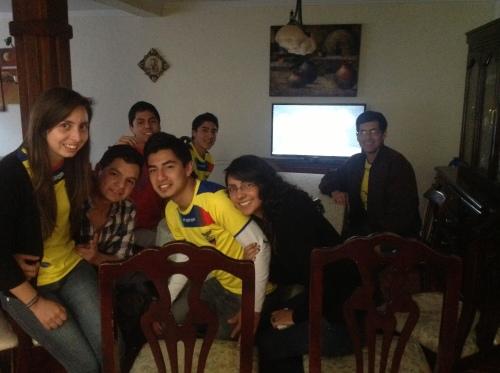 Ecuador-Argentinie