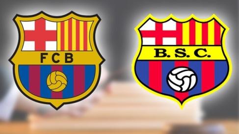 FC Barcelona strijdt met Barcelona SC uit Ecuador om clubnaam en logo