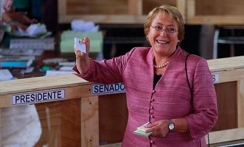Bachelet stemt