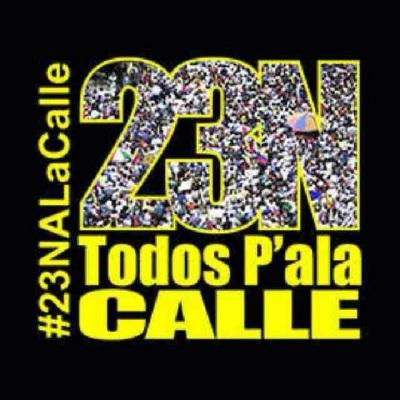 Oproep tot protest Venezuela