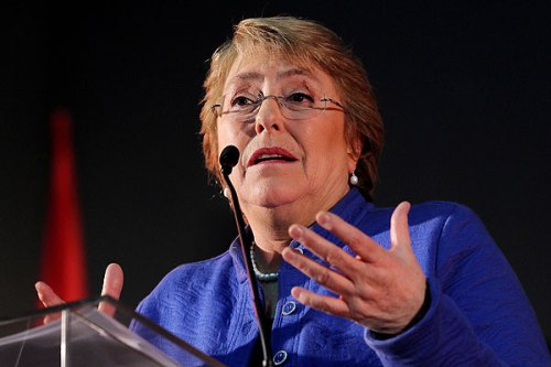 Bachelet wil presidentsverkiezingen Chili in eerste ronde winnen