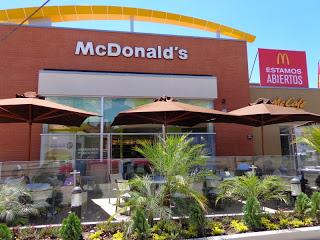 De eerste en enige vestiging van McDonald's in Cuenca