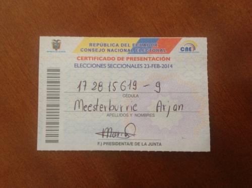 Stembewijs