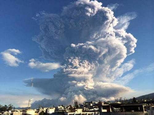 Uitbarsting Tungurahua