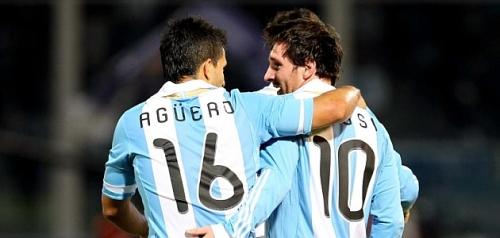 Messi Aguero