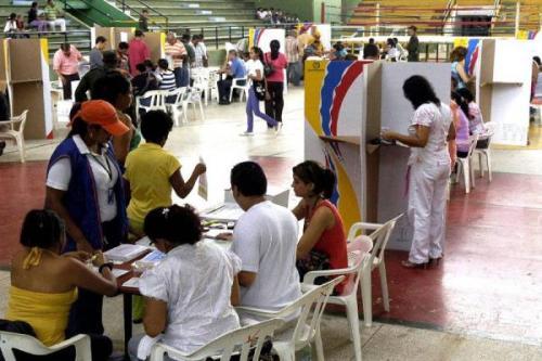Verkiezingen Colombia