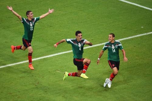 Marquez viert goal