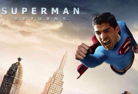 Suarez Superman