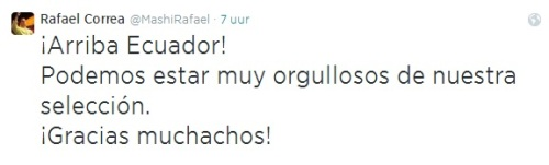 Voetbaltweet Correa