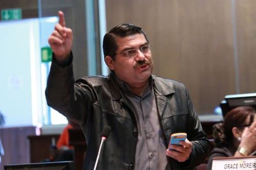Jorge Escala, Linkse Eenheidspartij