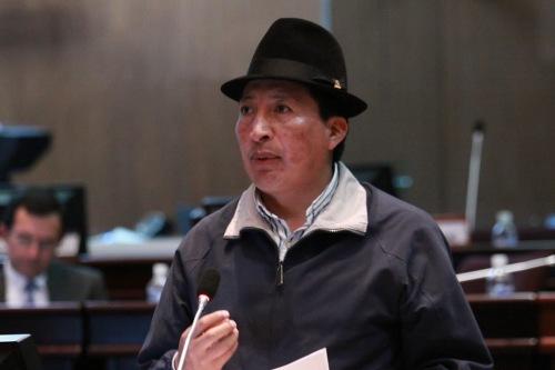 César Umaginga, Indianenpartij Pachakutik