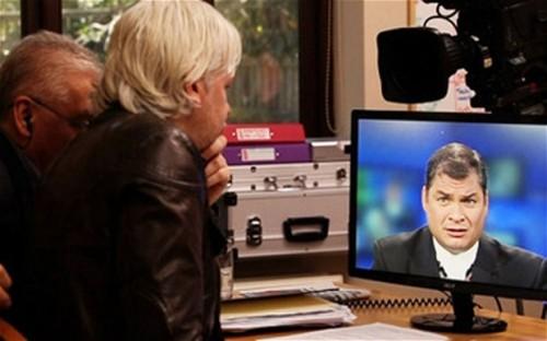 Correa Assange