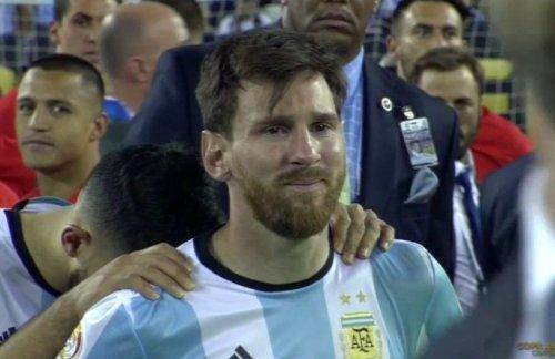 Messi ontroostbaar