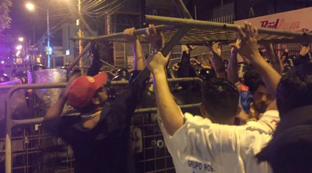 Protesten CNE