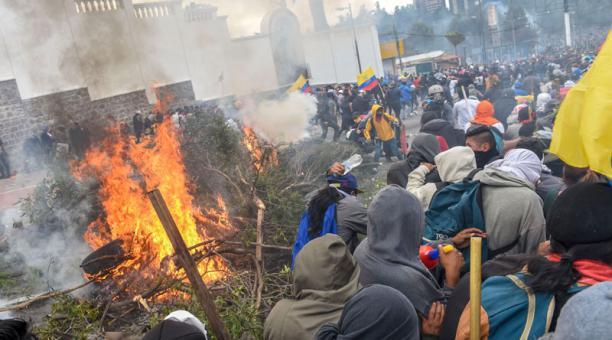 Protesten Ecuador