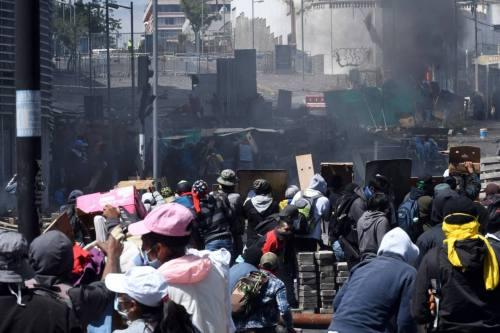 Protesten Quito