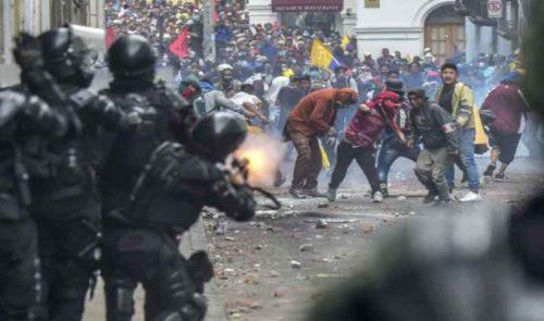 Geweld Ecuador